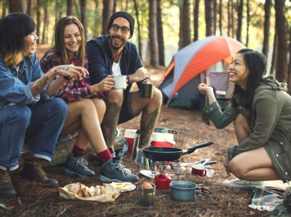 Camping or Camping Equipment