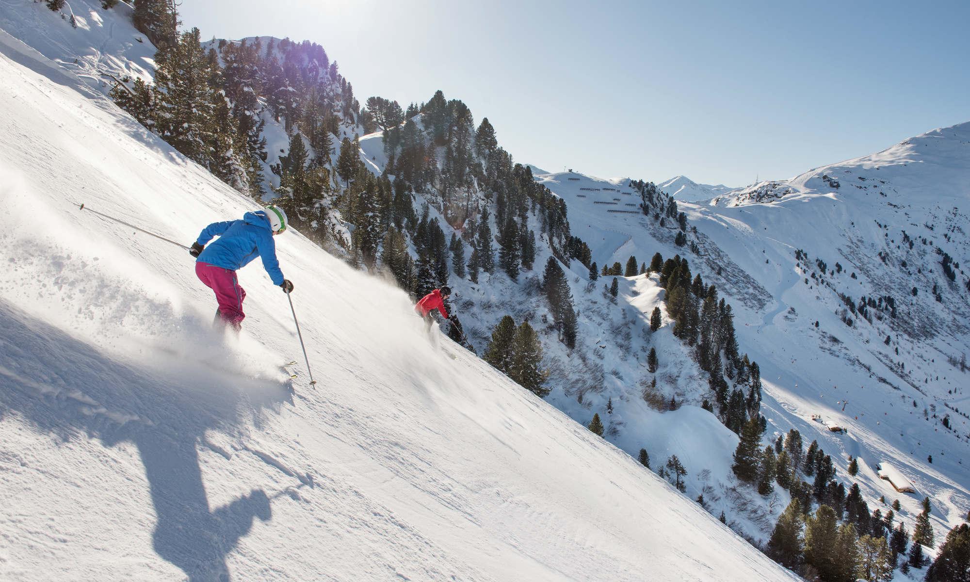 How to Ski Black Diamonds Instructions
