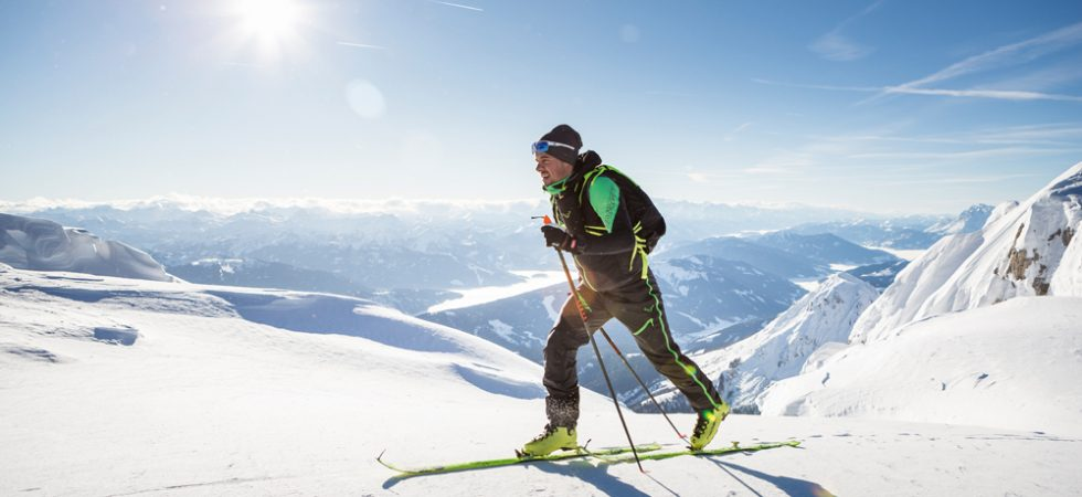 How to Make a Track and Climb in Ski Touring?