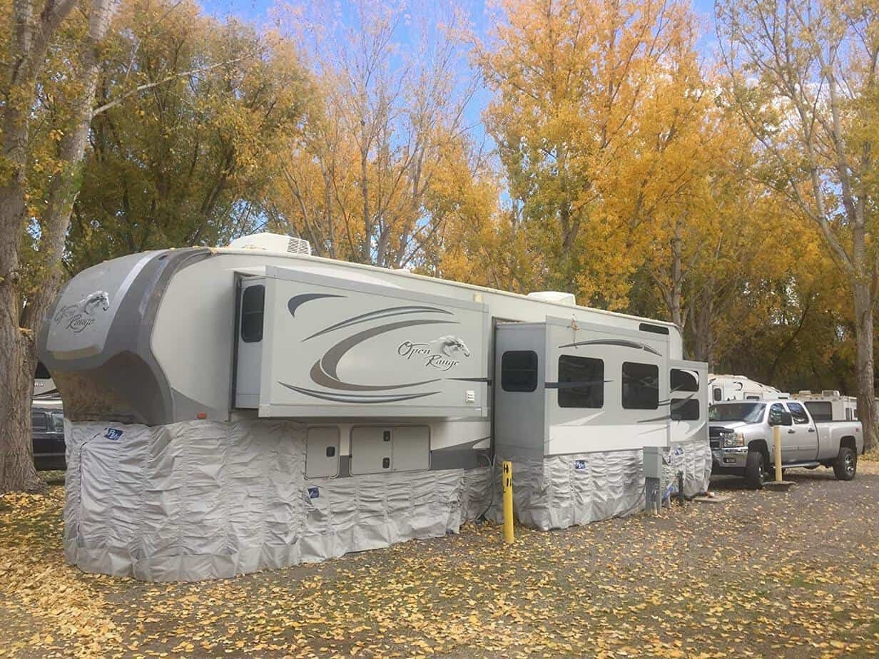 Living In An RV In The Winter