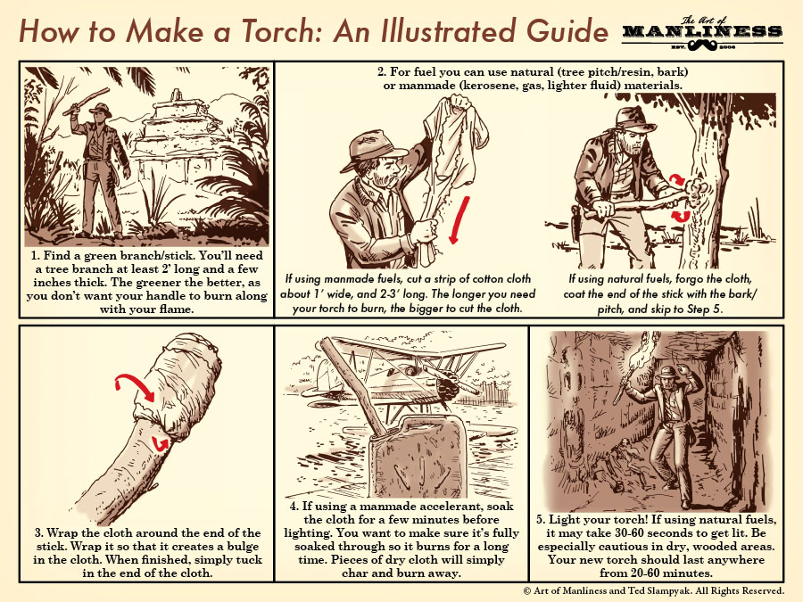 how to make a torch