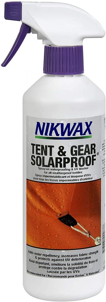 Best Tent Waterproofing Spray